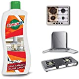 Kitchen Degreaser Cleaner | Non Corrosive | Multipurpose Product - Removes Oil Grease Food Stains | Kitchen Cleaner | Chimney