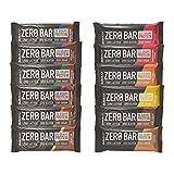 BioTech USA Zero Bar MIX BOX Protein Eiweiß Riegel, 24 x 50g, LOW CARB & LOW FAT, 45% PROTEIN, 0% Zucker, perfekt für die Diät, jeder Geschmack 2x