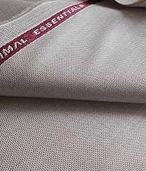 Vimal Mens Polyblend 3M Beige Suit Fabric
