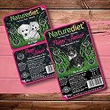 naturediet Cibo umido per cani senza cereali al pollo per Cuccioli & AGNELLO 390g x 18 pacco
