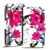 Verco Handyhülle Galaxy S3 Neo Muster, Motiv Hülle für Samsung Galaxy S3 Book Case Flip Cover - Design 6
