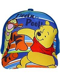 Gorra de Winnie the Pooh, gorra con Tiger, azul y blanco