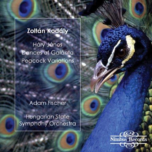 Kodaly : Hary Janos / Dances of Galanta / Peacock Variations