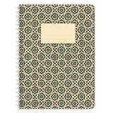 etmamu 518 Notizblock Muster Marokko Nr. 1 A5, 60 Blatt liniert