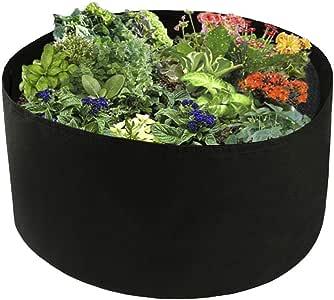 NOBRAND Geotextil Pflanzbeutel 3//5 Gallon Gem/üsepflanzen Blumen Setzling Anzucht Pflanztopf