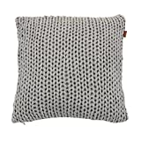 GANT Home Big Knit Kissenhülle 50x50 elephant grey