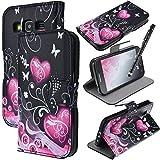 We Love Case Housse Etui pour Samsung Galaxy Core Prime G360 Silimi Cuir PU Case Cas...