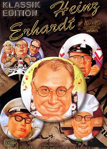 Heinz Erhardt 5er-Schuber (Drillinge an Bord - Natürlich die Autofahrer - Mein Mann das Wirtschaftswunder - Witwer mit 5 Töchtern - Vater, Mutter und 9 Kinder) [5 DVDs]
