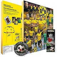 Adventskalender, Weihnachtskalender deines Bundesliga Lieblingsvereins 2019 - Plus gratis Sticker & Lesezeichen Wir Lieben Fußball