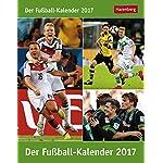 Der Fußball-Kalender - Kalender 2017 - Harenberg-Verlag - Tagesabreißkalender mit Fragen und Antworten - 12,5 cm x 16 cm
