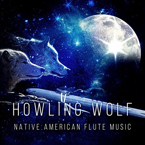 Howling Wolf - Native American Flute Music, Relaxing Time at Evening by Full Moon