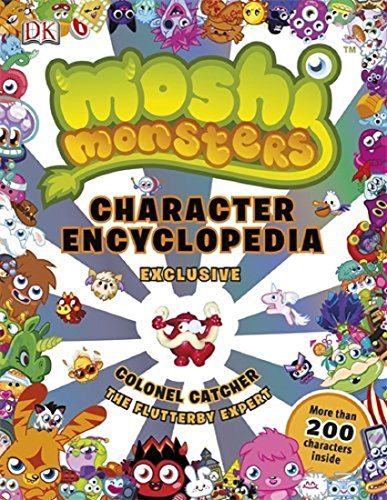 Image of Moshi Monsters Gift Pack. Character Encyclopedia & 10 Activity Sticker Books Set