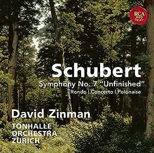 Schubert: Symphony No. 7, Unfinished: Rondo, Concerto & Polonaise