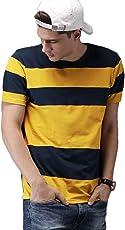 Veirdo Men's Cotton T-Shirt ( Tsh_78_Ylwnvy_P)