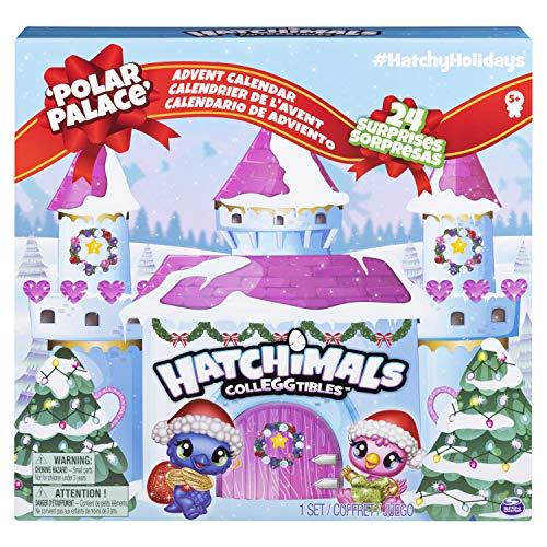 Hatchimals Colleggtibles - 6044284 - Calendrier de l'Avent Hatchimals à Collectionner avec personnages exclusifs et Accessoires inclus - Jouet pour Enfant, à partir de 5 ans