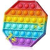 SPRINT GEAR Pop it Fidget Toys,Octagon fidjetoys Toy Anti Stress, popit Jeux Pas Cher, Multicolore popite fijets Toys entiste