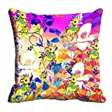 meSleep Nature Digital Printed Cushion Cover (16x16) best price on Amazon @ Rs. 175