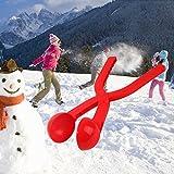 Deanyi Outdoor Schneeball Maker Klemme Schneeball Clip Lustige Kinder Sand Form Werkzeug Baby Spiel Sport Spielzeug