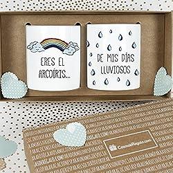 Eres el arcoíris de mis días lluviosos