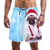 LORVIES - Bañador para hombre, diseño de cachorro de cachorro de playa