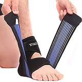 Supporto per Caviglia Elastica Sportiva Cavigliera Traspirante Regolabile per Sport Dolori Articolari Distorsioni…