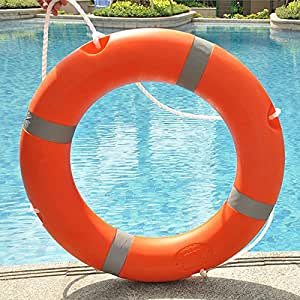 Swimming Pool Swim Ring Buoy Thickened In Adult Professional Life Saving Equipment