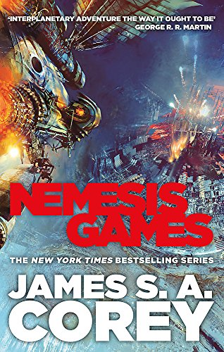 Nemesis Games: Book 5 of the Expanse (now a major TV series on Netflix) por James S. A. Corey