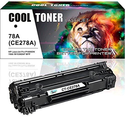 Cool Toner kompatibel Toner CE278A(78A) für HP LaserJet Pro M1536 MFP M1536DNF P1560 P1566 P1606 P1606DN, HP 278A 78A Patrone Druckerpatrone HP Laserjet P1606DN 1606DN 1606 1536 1536DNF 1536 DNF MFP (Hp Laserjet P1606dn)