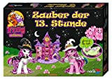 Noris Spiele 606011214 - Filly Witchy Black - Zauber der 13 Stunde mit Glow in the Dark Effekten, Kinderspiel