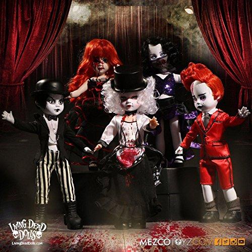 Close Up Living Dead Dolls Assortment Moulin Morgue, 5 Verschiedene Puppen je 25 cm