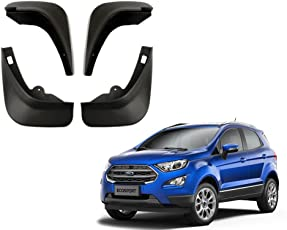 Autopearl O.E Type Car Mud Flap Guard for Ford Eco Sport (Set of 4)