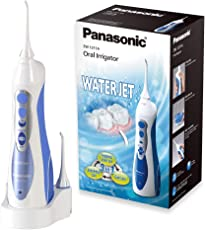 Panasonic Munddusche EW1211 (mobil, kabellos und aufladbar, elektrisch) blau/weiß
