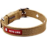 PetsLike Collar, Army Green (25 mm)