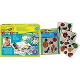 Crayola Mini Kids - Mon Premier Coffret de coloriage et de gommettes - Coloriage 256287.006 Gommettes Fruits et légumes - Col