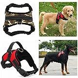 #4: Petsplanet Service Dog Harness Vest Service Dog Harness Vest Cool Comfort Oxford cloth for dogs Small Medium Large