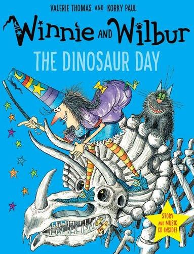 Winnie and Wilbur: The Dinosaur Day with audio CD