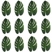 Palmenblätter Deko.Kleidung Accessoires Hawaii Deko Grün 4 Palmenblätter