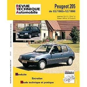 Revue Technique 112.1 Peugeot 205 Essence et Diesel