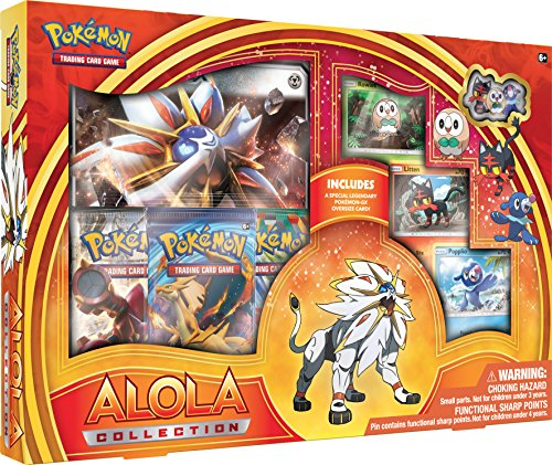 Pokemon TCG Coffret Alola Collection (Solgaleo ou Lunala) - En ANGLAIS