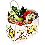 Dussle Dorf Reusable Large Heavy Duty Waterproof Shopping Bags Kitchen Essentials/Grocery Bag/Vegetable Bag/jhola/Carry Bag/t