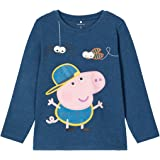 NAME IT Camiseta Peppa Pig Azul para Niño
