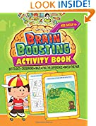 #5: Brain Boosting Activity Book - Age 4+: Match the Pair, Find the Difference, Maze, Crossword, Dot-to-Dot  (4+ Yrs)