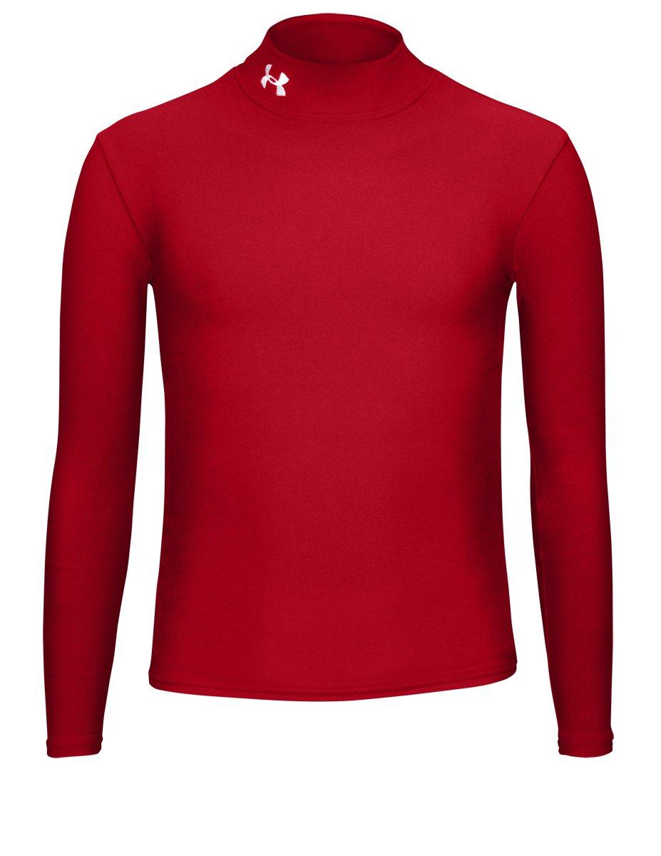 Under Armour UnderArmour-Maglietta da ragazzo, taglia XL, colore: Bianco, Bambino, Shirt Ua Cg Comp