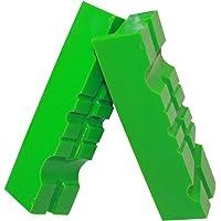 GRIP&BENDER, ganasce magnetiche di protezione per morsa, dimensioni di 100 mm-125 mm, 60°-90°, scudo di gomma di colore…