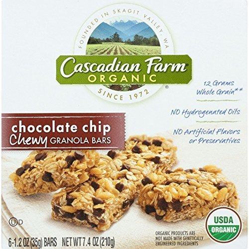cascadian-farm-granola-bar-organic-chewy-chocolate-chip-74-oz-case-of-12-95-organic-by-cascadian-far