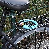 Nean Fahrrad Schloss Kabelschloss Spiralschloss 10x650mm mit Zahlenkombination Zahlenschloss Blau -