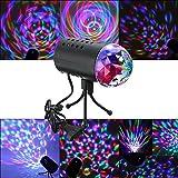 SOLMORE Disco Lichteffekte Licht RGB Stimme Aktiviert Discokugel LED Lichteffekt