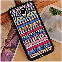 Prevoa ® 丨 Meizu M2 Mini Funda - Colorful Silicona Protictive Carcasa Funda Case para Meizu M2 Mini 5,0 Pantalla Smartphone - 18