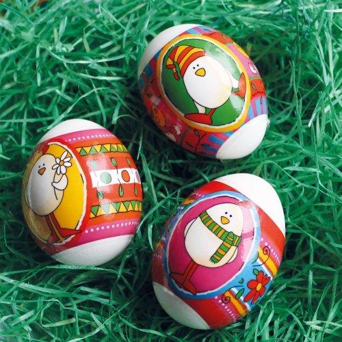 Herma Bunte Zauberfolie für 24 Ostereier - Ostern