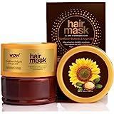 WOW Skin Science Sunflower Biolipids & Argan Oil Hair Mask for Dry & Damaged Hair, 200mL